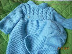 gorrito tejido dos agujas bebe (2) | Aprender manualidades es ...
