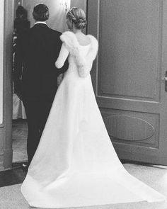 Mosha Lundström Halbert and Aidan Butler's Iceland Wedding — Photos - Vogue Wedding Fur, Vogue Wedding, Modest Wedding, Wedding Bells, Wedding Flowers, Norwegian Wedding, Iceland Wedding, Couture Wedding Gowns, Glamour