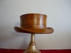 Beautiful millinery wooden hat block