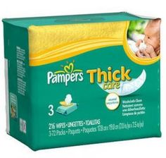 Pampers wipes a penny each starting this Sunday at Target!