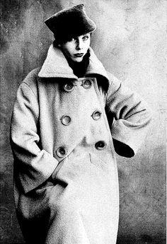 """Irving Penn    From """"Elsa Schiaparelli"""" by Francois Baudot  1950, Irving Penn."""