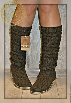 Обувь ручной работы. Ярмарка Мастеров - ручная работа. Купить Демисезонные сапожки  A-elita -Классика Цвет-кофе. Handmade.