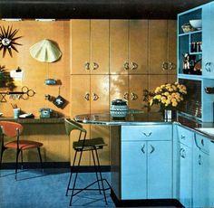 Mid-Century Modern Freak | 1955 Kitchen Via