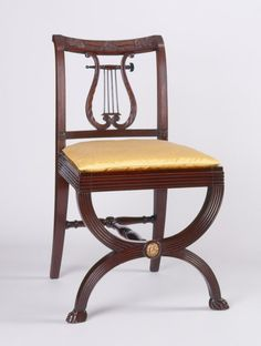 Duncan Phyfe, side chair, 1815–20 - Art & Antiques