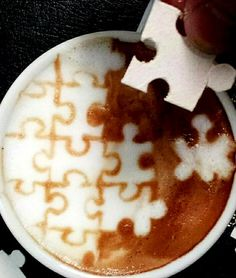 That's me....a great cup of coffee and jigsawpuzzles.com..........every morning....stimulates the brain!