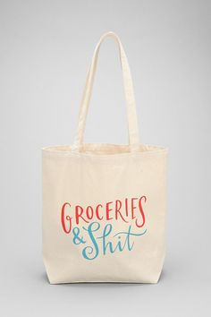 Emily McDowell Grocery Bag - Urban Outfitters