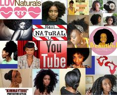 natural hair you tubers - for sharing their tips and answering innumerable questions, these ladies rock