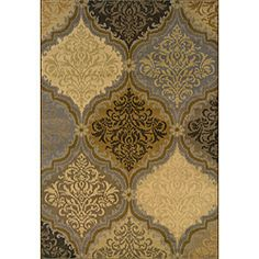 @Overstock.com - Grey/ Gold Transitional Area Rug (9'10 x 12'9) - Update your home decor with a fresh new look with this detailed oriental print rug. Various yarn textures add a visual interest and gives this rug a luxurious feel in shades of grey, gold and black.  http://www.overstock.com/Home-Garden/Grey-Gold-Transitional-Area-Rug-910-x-129/6657607/product.html?CID=214117 CAD              628.07