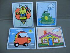 Rompecabezas - Juguetes didácticos, material didáctico, jardin de infantes, nivel inicial, Juegos, Juguetes en madera