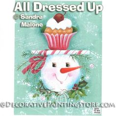 All Dressed Up e-Pattern -Sandra Malone - PDF DOWNLOAD