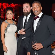Star Tracks: Monday, November 3, 2014 | POWER TRIO | Also at the LACMA gala: Salma Hayek, Leonardo DiCaprio and Jamie Foxx, who hold court on Saturday night.