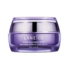Laneige Hydra Solution Cream is a superbly hydrating face cream that provides skin with optimum hydration management, keeping it moist and moisturized all day long at $ 43.00  http://www.bboescape.com/products/buy/227/health-beauty-products/Laneige-Hydra-Solution-Cream-oz-ml