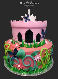 Princess Cake by ArteDiAmore on DeviantArt