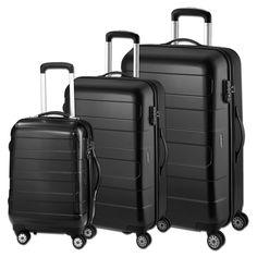 Kofferset d&n Lederwaren Travel Line 8600 bei Koffermarkt: ✓Hartschale  ✓kratzunempfindlich ✓4 Rollen ✓3-teilig ✓TSA-Schloss ⇒Jetzt kaufen