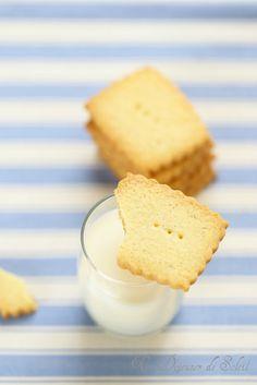 Sablés à la vanille et à la fleur de sel