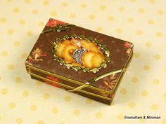 Preciosa caja de regalo con galletas ♡ ♡