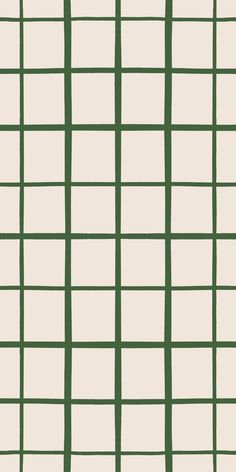 Grid - Traditional / 2 x 12 ft / Fern Green and White -- 6d964f