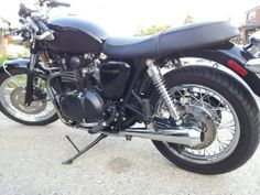before pic 1 2007 triumph bonneville t100 anti hero custom