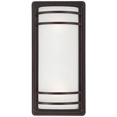 "Habitat Collection 16"" High Indoor - Outdoor Wall Light - #9C037 | Lamps Plus"