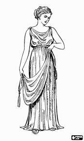La tunica interior, è apparsa a Roma nei primi anni del III secolo d.C. E' formata da due teli di tessuto rettangolari, cuciti tra loro lateralmente e sulle spalle, priva di maniche e colletto. Solitamente in lino o in cotone naturale.