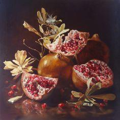 Gatya Kelly ~ Golden Pomegranate Alhambra