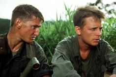 CASUALTIES OF WAR, Sean Penn, Michael J. Fox, 1989 | Essential Film Stars, Sean Penn http://gay-themed-films.com/film-stars-sean-penn/