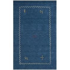 Found it at Wayfair - Himalayan Blue Area Rug