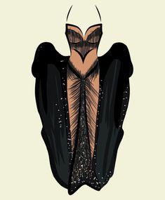 Cher's Bob Mackie dress from the 1988 Academy Awards.