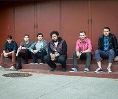 Members of Dance Gavin Dance : Tilian Pearson - Vocals Jon Mess - Vocals Will Swan - Guitar/vocals Josh Benton- Guitar Tim Feerick - Bass Matt Mingus - Drums — with Josh Benton, Tim Feerick, William Swan, Matthew Mingus and Tilian Pearson.