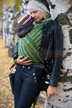 Norwegian Style Ben woven wrap