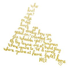 Something to remind you of all those sayings that make not a drop of sense? Or maybe a guide to Newfie Slang for the mainlander in your life? Newfoundland Canada, Newfoundland And Labrador, Goose Bay, Big Cartel, Canadian History, Sea Glass Art, Canada Travel, Silhouette Design