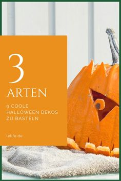 3 ways to make 9 cool Halloween decos lelife. - Diy And Home Premium Wordpress Themes, Halloween Decorations, Blog, Cool Stuff, How To Make, Crafts, Facebook, Paper, Kids Hands
