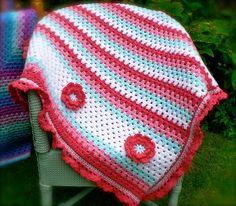 Matilda  - Crochet  baby blanket.