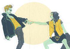 You instead! (Tonight you're mine) by Elena-Greta Apostol, via Behance