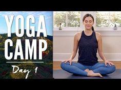 Yoga Camp Day 1 - I Accept - YouTube