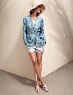 H&M Studio Spring Brocade Jacket