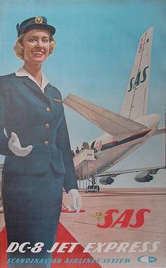 SAS - DC-8 Jet Express