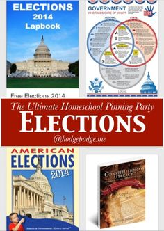You are invited! Government and Elections Resources at The Ultimate Homeschool Pinning Party Kindergarten Writing, Writing Process, You Are Invited, Social Studies, Geography, Cycle 3, Activities, Teaching, Education