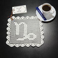 Șervețel Decorativ din Dantelă - CAPRICORN · HAV-A.ro coffee doily Virgo Zodiac, Scorpion, Crochet Doilies, Lace, Coffee, Women, Amigurumi, Scorpio, Kaffee