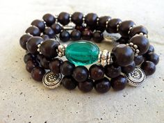 Beaded stretch bracelets can be the highlight of any chic outfit.
