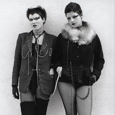 70s punks in King's Road in Chelsea, London