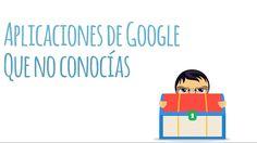 Y tú ya conocías estas aplicaciones de Google ??