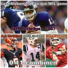 Crazy Stat of the Day: The last Alabama Football quarterback to win an NFL game was in 1987.   12/14/2015