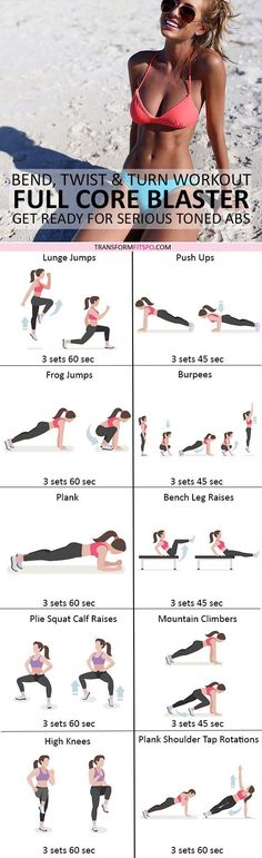 #womensworkout #workout #femalefitness Repin and share if this workout gave you a tight core quickly! Click the pin for the full workout.