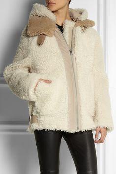 Acne|Velocite shearling jacket|NET-A-PORTER.COM