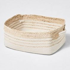 Our rectangle woven basket offers a simple yet stylish way to de-clutter your home. Made from rope and woven natural fibres, it'll look great in the. Rope Basket, Basket Weaving, Linen Baskets, Flat Ideas, Storage Baskets, Fiber, Target, Natural, Australia