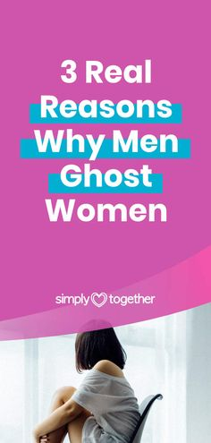 Being ghosted is not a pleasant experience yet is extremely common in dating nowadays. The real truths about why guys ghost women will surprise you. The first one is actually pretty funny!  #Dating #DatingHumor #DatingTips #DatingAdvice #Ghosting Dating Advice, Relationship Advice, Relationships, Understanding Men, Love Signs, Dating Humor, Behavior, Truths, Thoughts