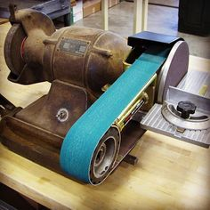 Even old grinders can be taught new tricks! Would be awesome to get the old equipment working again...