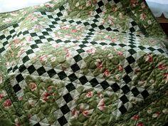 Floral Irish Chain PDF Quilt Pattern