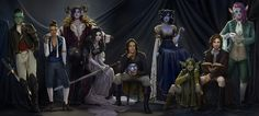 Critical Role Twitter, Critical Role Fan Art, Character Art, Character Design, Fantasy Setting, Vanity Fair, I Love Anime, Dungeons And Dragons, Game Art